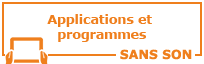 Applications et programmes