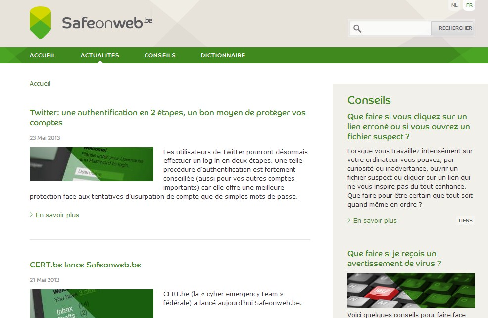 Safeonweb