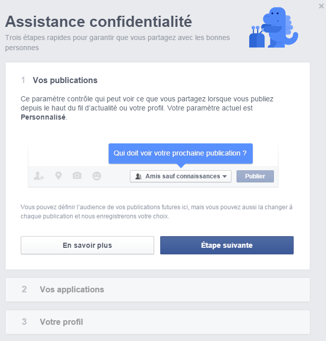 Assistance confidentialité