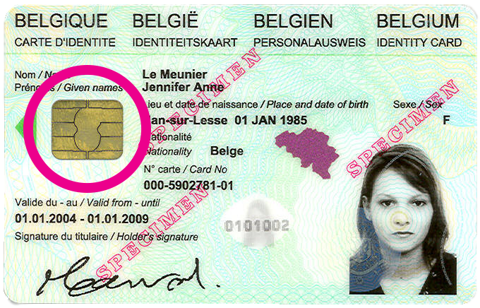 Carte Identite Belgique.Carte D Identite Electronique Pmtic