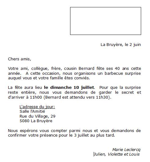modele lettre d accueil Créer une lettre type | PMTIC modele lettre d accueil